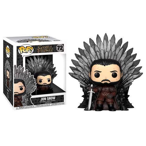 Pop Funko Scene Iron Throne Jon Snow # 72