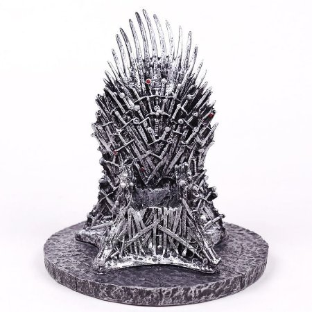 Miniatura em Resina 15cm  - Trono de Ferro / Iron Throne - Game of Thrones