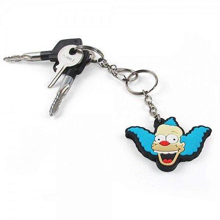 Chaveiro Emborrachado Cute Krusty