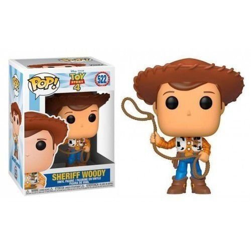 POP! Funko Disney: Toy Story 4 - Sheriff Woody # 522