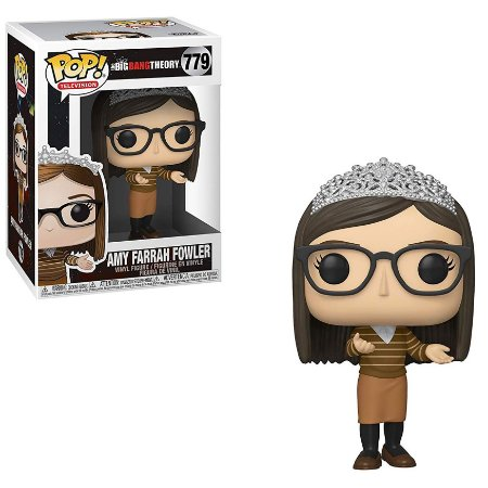 POP! Funko Big Bang Theory Amy Farrah Fowler # 779
