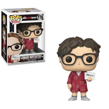 POP! Funko Big Bang Theory Leonard Hofstadter # 778