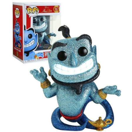 POP! Funko Disney: Gênio com a Lâmpada - Diamond Exclusive # 476