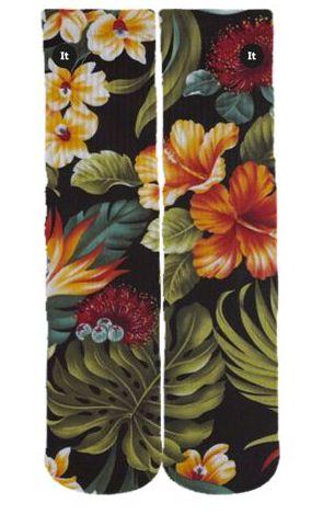 Meia Floral Black - ItSox