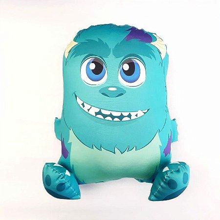 Almofada CuboArk 3D Sulley Monstros S/A
