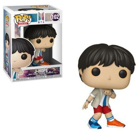 POP! Funko Rocks: BTS J-Hope # 102