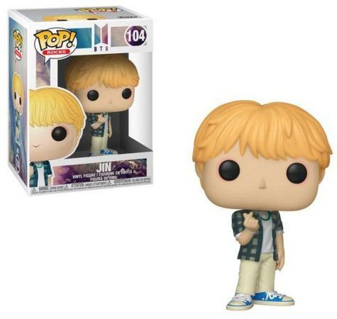 POP! Funko Rocks: BTS Jin # 104