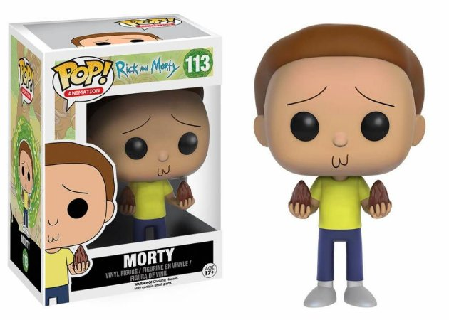 POP! Funko Rick & Morty: Morty # 113