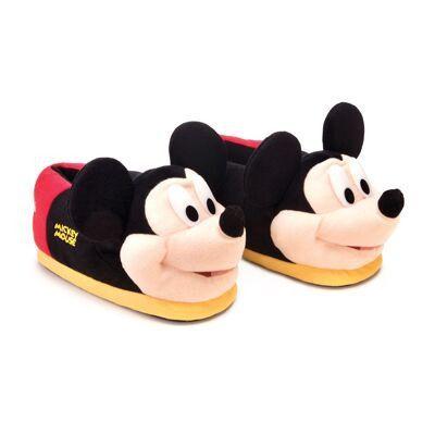 Pantufa 3D Mickey Mouse Licenciada 37/39