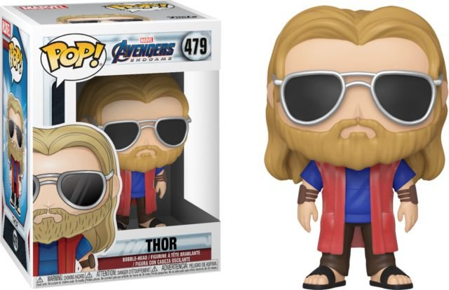Pop! Funko Marvel End Game | Ultimato - Thor Casual # 479