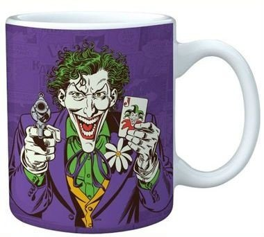 Caneca de Porcelana Coringa, The Joker, DC Comics