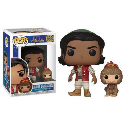 POP! Funko Disney: Aladdin de Agrabah com Abu # 538