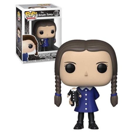 POP! Funko The Addams Family Vandinha / Wednesday Addams # 811