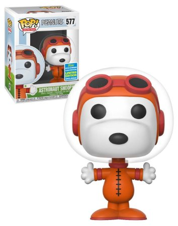 POP! Funko Special Edition SDCC- Peanuts/ Snoopy Astronauta # 577