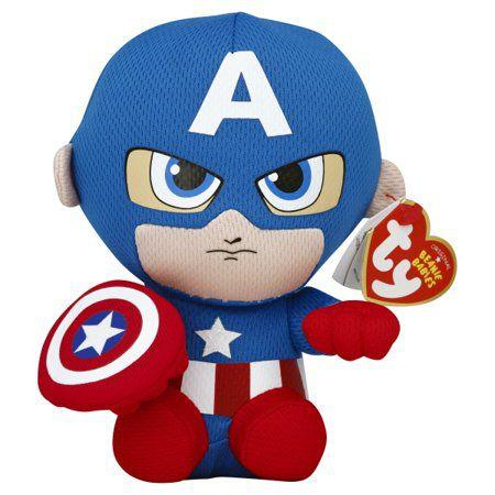 TY Beanie Babies - Capitão América