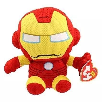 TY Beanie Babies - Homem de Ferro