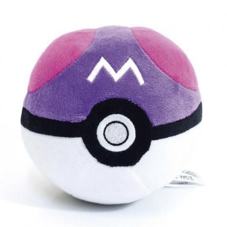 Pokebola de Pelúcia - Master Ball