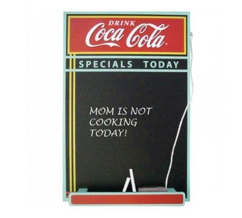 Quadro Negro Coca-Cola - Menu do Dia