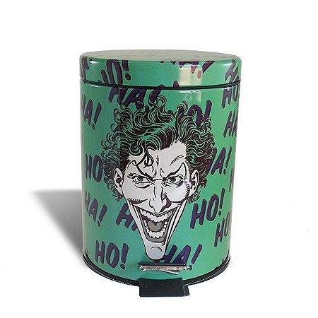 Lixeira de Metal Coringa, Joker - DC Comics - 5 Litros
