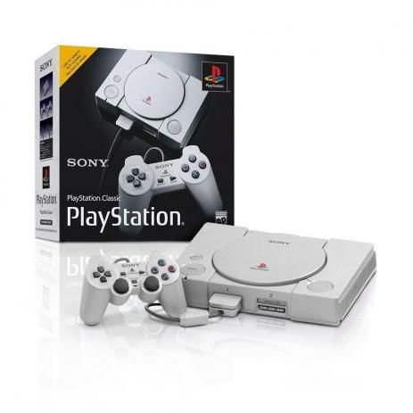 Console Playstation 1 Classic Sony Com 20 Jogos
