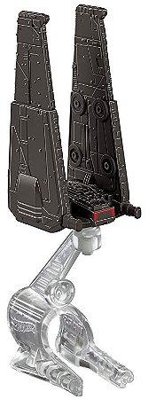 Nave Star Wars - Kylo Ren's Command Shuttle - Hot Wheels - Mattel