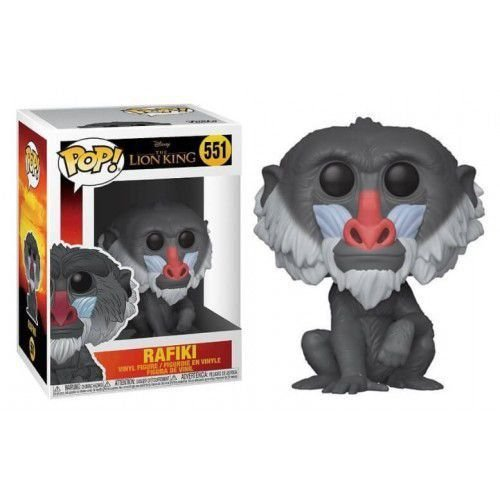 "POP! Funko Disney "" O Rei Leão"" Live Action - Rafiki # 551"
