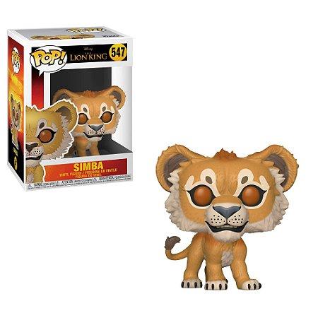 """POP! Funko Disney """" O Rei Leão"""" Live Action -Simba # 547"""