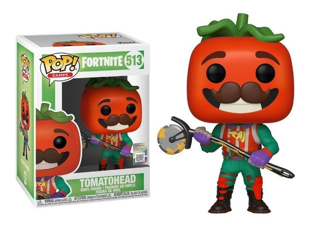 Boneco POP! Funko Fortnite 3 Tomatohead # 514