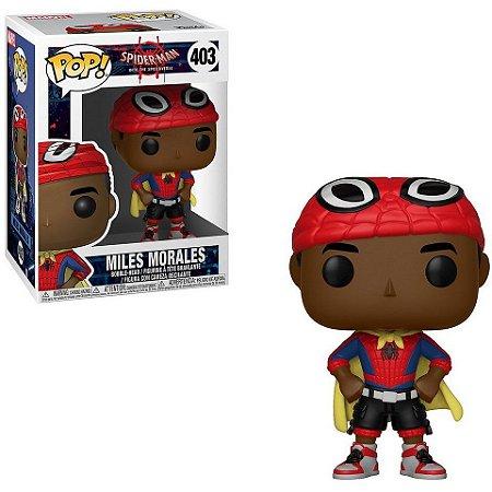 POP! Funko Marvel: Homem Aranha no Spiderverso - Miles Morales # 403