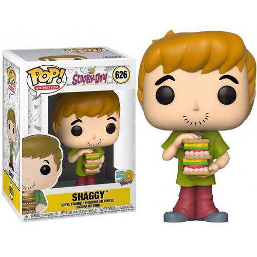 POP! Funko - Scooby Doo 50 anos Shaggy / Salsicha # 626