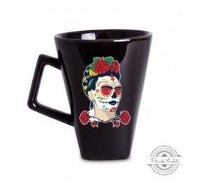 """Caneca de Porcelana Frida Kahlo """"La Catrina"""""""