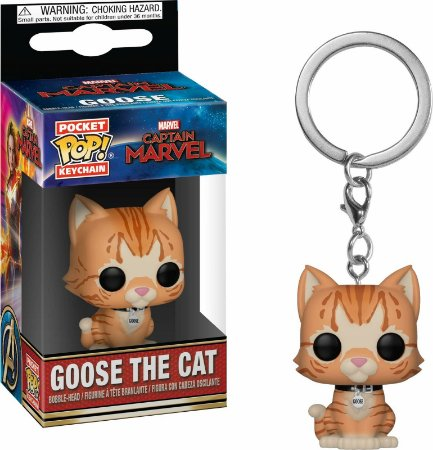 Chaveiro Funko POP Keychain Marvel - Goose the Cat