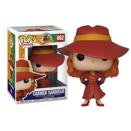 POP! Funko Television - Carmen Sandiego # 662