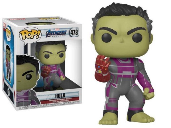 POP! Funko Super Sized Hulk Endgame / Ultimato # 478