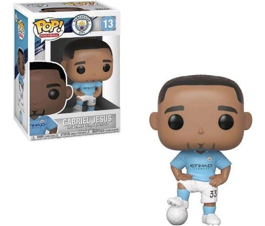 POP! Funko Football Manchester Gabriel Jesus # 13