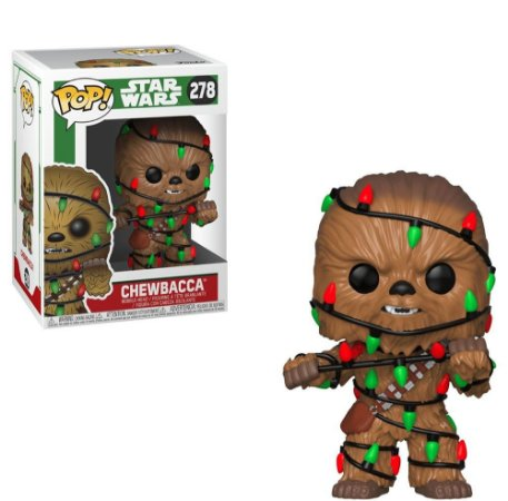 POP! Funko Star Wars Holiday Chewbacca # 278