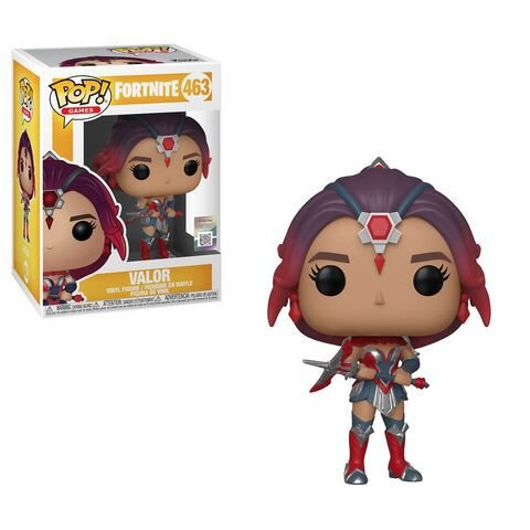 Boneco POP! Funko Fortnite Valor # 463