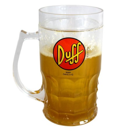 Caneca de Chopp 500ml Duff Beer