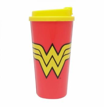 Copo Plástico 500ml Grab and Go - DC Comics Wonder Woman