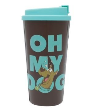 Copo Plástico 500ml Grab and Go - Scooby Doo