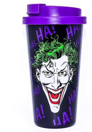 Copo Plástico 500ml Grab and Go - DC Comics Joker