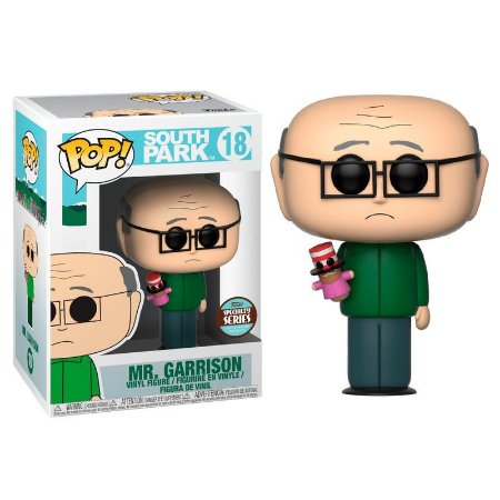 POP! Funko South Park 2: Mr. Garrison Exclusive # 18