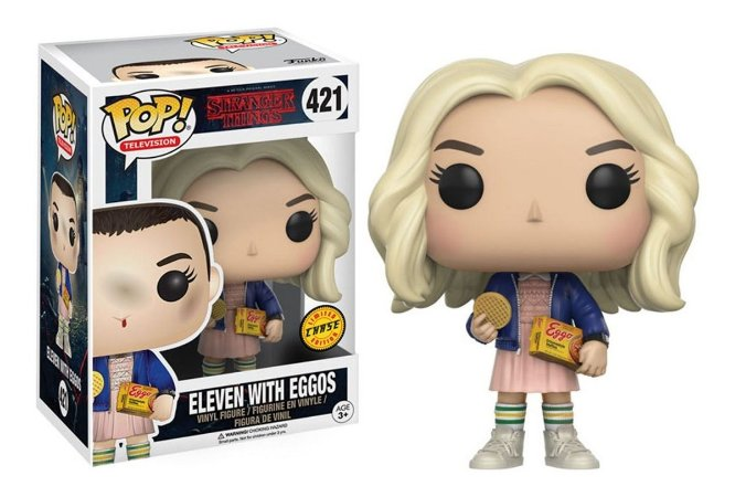 POP! Funko Stranger Things: Eleven w/ Eggos Chase # 421
