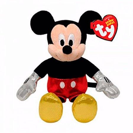 TY Beanie Babies - Pelúcia Mickey