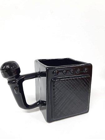 Caneca 3D Amplificador e Microfone