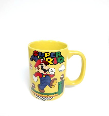 Mini Caneca Porcelana Super Mario