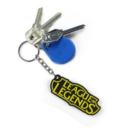 Chaveiro Cute Emborrachado - League of Legends