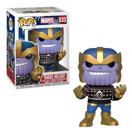 POP! Funko Marvel Holiday Thanos # 533