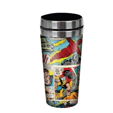 Copo Térmico 450ml HQ´s Marvel