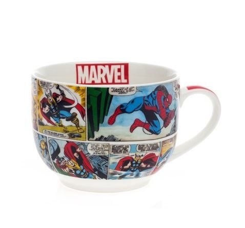 Caneca Bowl Sopa HQ´s Marvel
